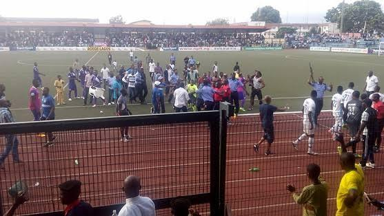 Kano Pillars Vs Enugu Rangers Match Ends In Violence (Watch Video) 1
