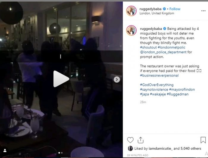 Nigerian Celebrities React After Rugged Man Was Attacked In London 15