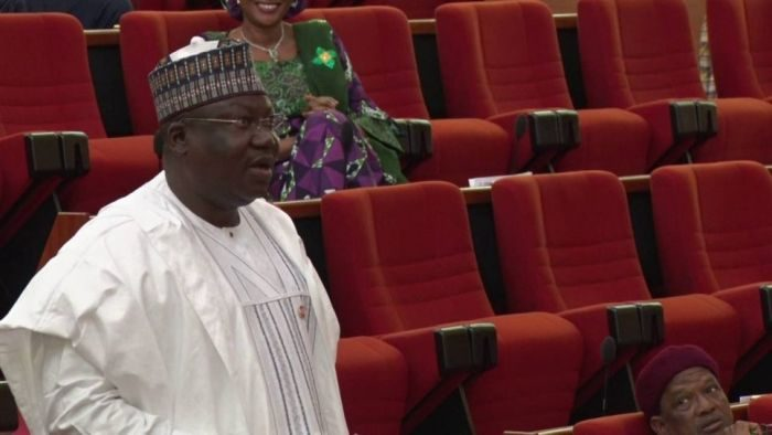 BREAKING!!! APC's Ahmed Lawan Emerges Senate President Of The 9th Assembly 21