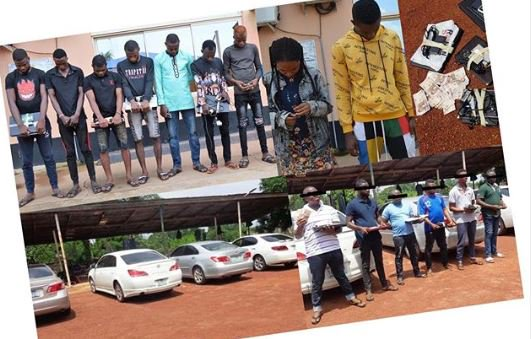 AGAIN!! EFCC Nabs 14 Suspected Internet Fraudsters In Oyo State (Photos And Their Names) 2