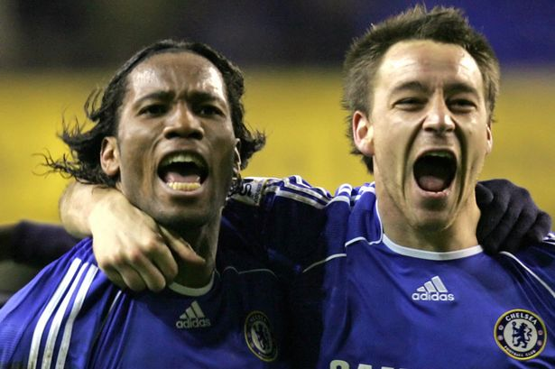 Wow! Excitement As Drogba And Terry Return to Chelsea 1