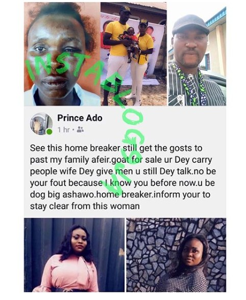 Man Beats His Wife For Abandoning Their Baby To Club, Blasts Her Friend (Photos) 9