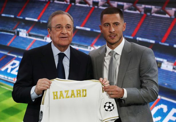 See What Eden Hazard Told Real Madrid Fans During His Official Unveiling 1