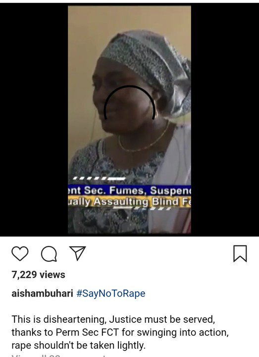 SHAMELESS! Two Teachers Rape Blind Students, First Lady As Aisha Buhari Reacts 3