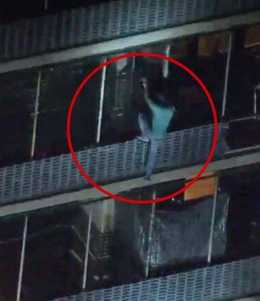 Heroic! Man Climbs 19-storey Building To Save His Mother From Fire (Photos) 3