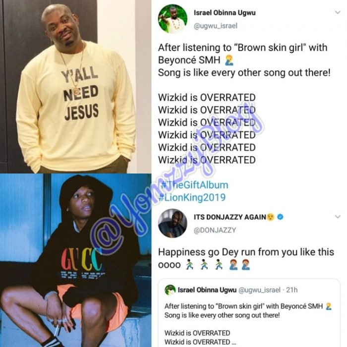 Don Jazzy Replies Man Who Says Wizkid Is Overrated 3