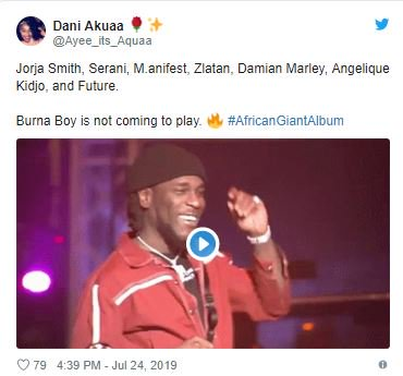 Burna Boy Features Bob Marley's Son And Others In New Album, Fans Reacts 4