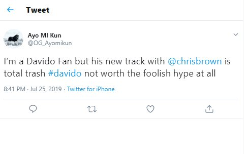 """DO YOU AGREE?? """"Davido Refuses To Blow Our Minds"""" – Fans React To Song With Chris Brown 5"""