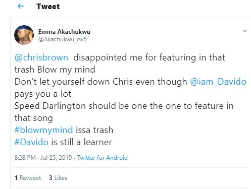 """DO YOU AGREE?? """"Davido Refuses To Blow Our Minds"""" – Fans React To Song With Chris Brown 3"""