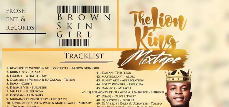 MIXTAPE: Brown Skin Girl (The Lion King Mix) Hosted By Dj Teefrosh 8