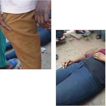 SO SAD! Lady Dies While Alighting From A Bus 1