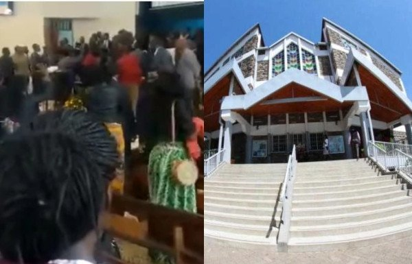 Unbelievable! Pastor Gets Beaten Up In Church By His Own Members (Video) 1