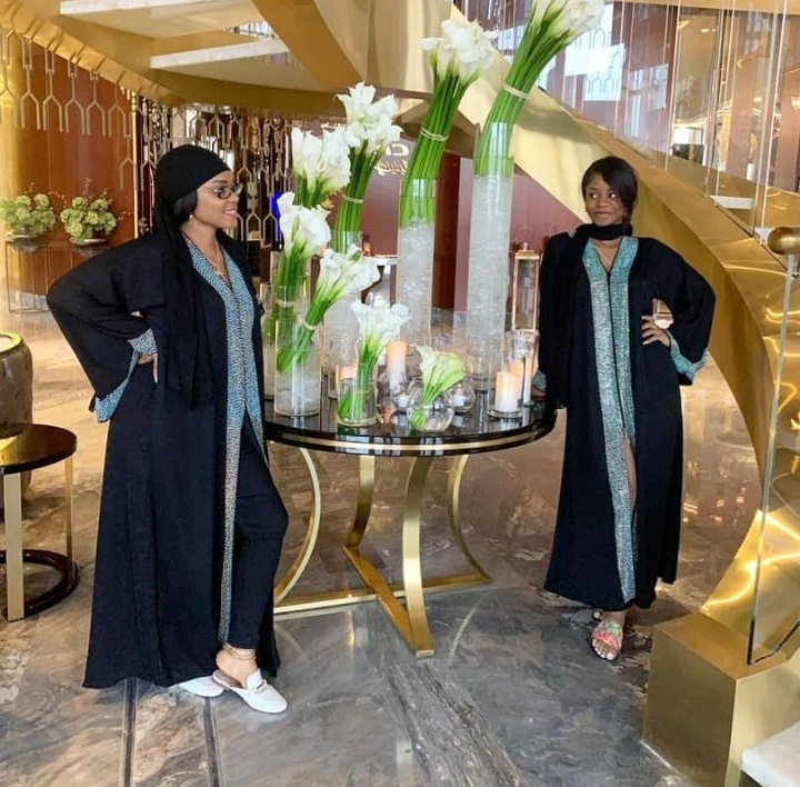 'The Queen And Her Princess' – Actress Iyabo Ojo And Daughter Slaying In Dubai 1