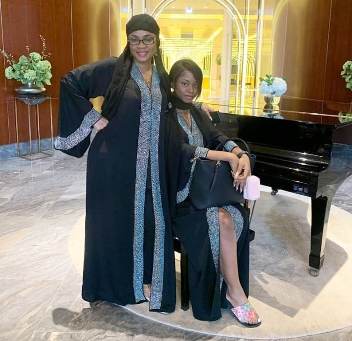 'The Queen And Her Princess' – Actress Iyabo Ojo And Daughter Slaying In Dubai 3