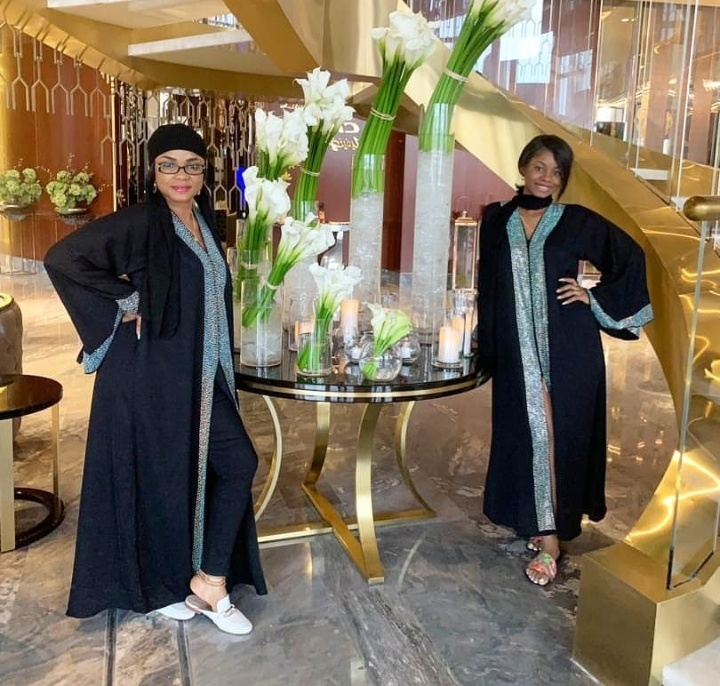 'The Queen And Her Princess' – Actress Iyabo Ojo And Daughter Slaying In Dubai 4