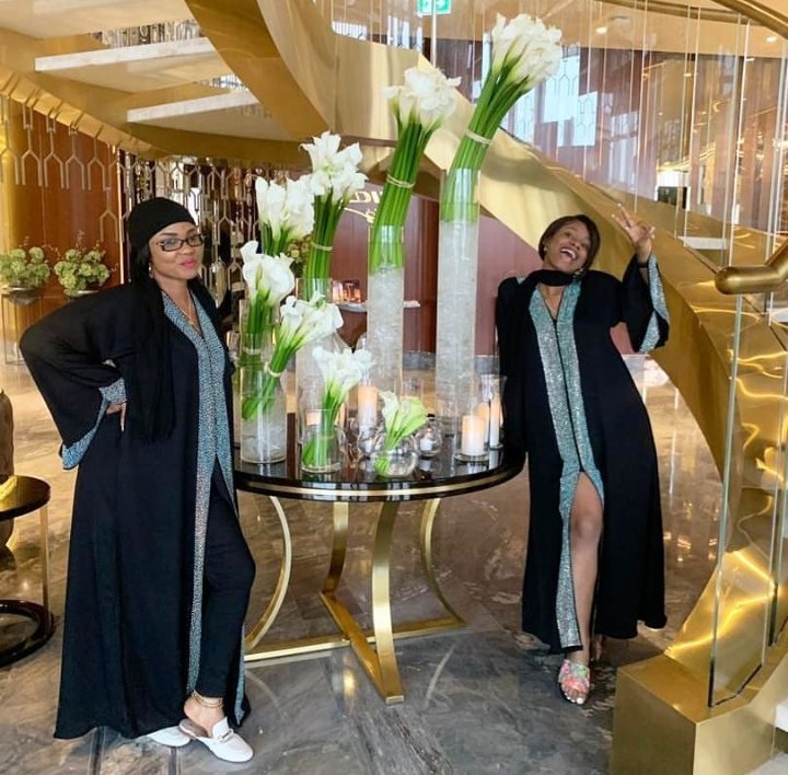 'The Queen And Her Princess' – Actress Iyabo Ojo And Daughter Slaying In Dubai 5