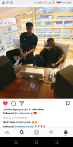 GBEDUUU INCOMING : Fireboy DML Linked Up  with Cracker Mallo Again On New Song 2