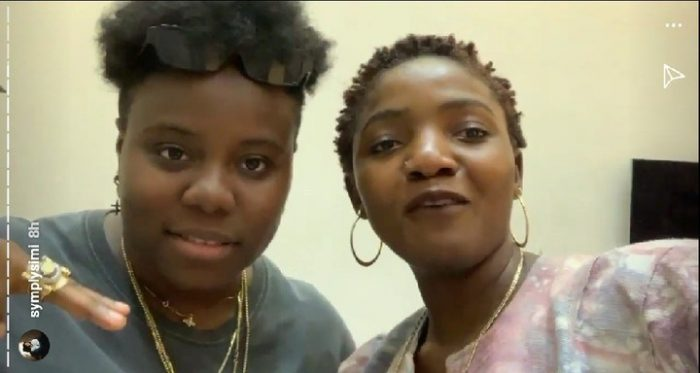 BREAKING: Simi And Teni Meet, Set To Drop New Song Together (Photos) 1