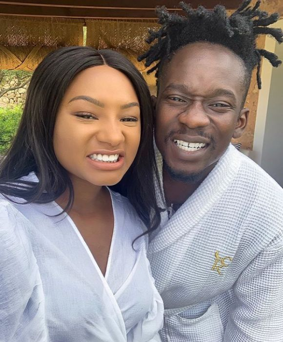Mr Eazi And His Girlfriend Temi Otedola Reaffirms Love For Each Other On His Birthday 1