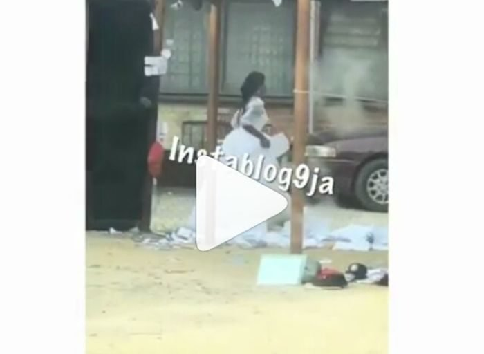 Lady Wears Wedding Gown To Write Her Masters Entrance Exam In UNILAG (WATCH VIDEO) 1