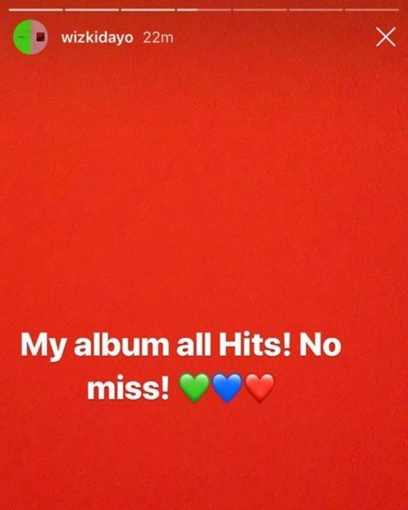 I May hurt Some People's Feelings With My New Album - Wizkid 2