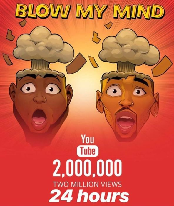 BADDEST!!! Davido Sets Another YouTube Record With New Single, 'Blow My Mind' 4