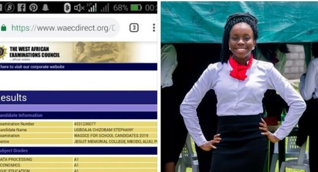 GURU!!! This 16-Year-Old Girl Made 9As In 2019 WAEC Result (Photos) 3