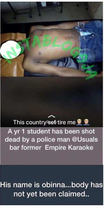 Student Killed By Bullets From Politician's Security Guards In Bayelsa (Photo) 2