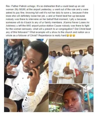 May You Never Have Peace Until You Repent – Lady Places A Curse On A Reverend (See What He Did) 1
