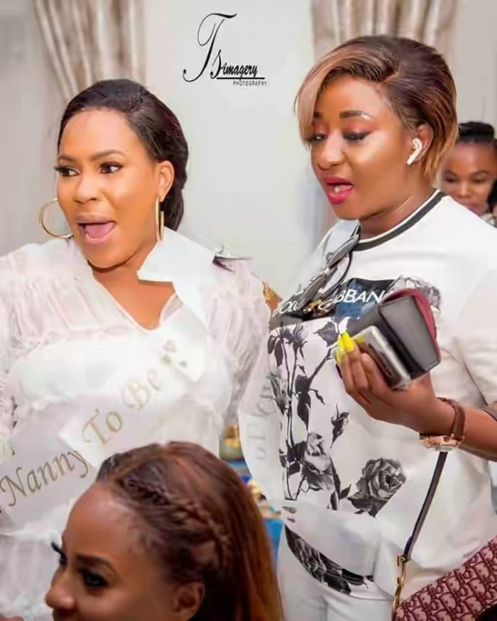 Toke Makinwa, Ini Edo Spotted At Toyin Abraham's Baby Shower (Photos) 4