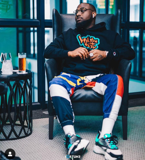 DAVIDO CAUSES STIR ONLINE WITH NEW POST PROMOTING CULTISM 1