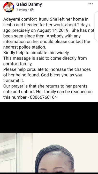 Have You Seen Her? Missing Lady In Ilesha, Osun State (Photos) 2
