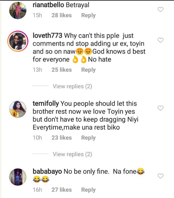 Fans Blast Toyin Abraham's Ex-Husband After Her Engagement With New Husband 4