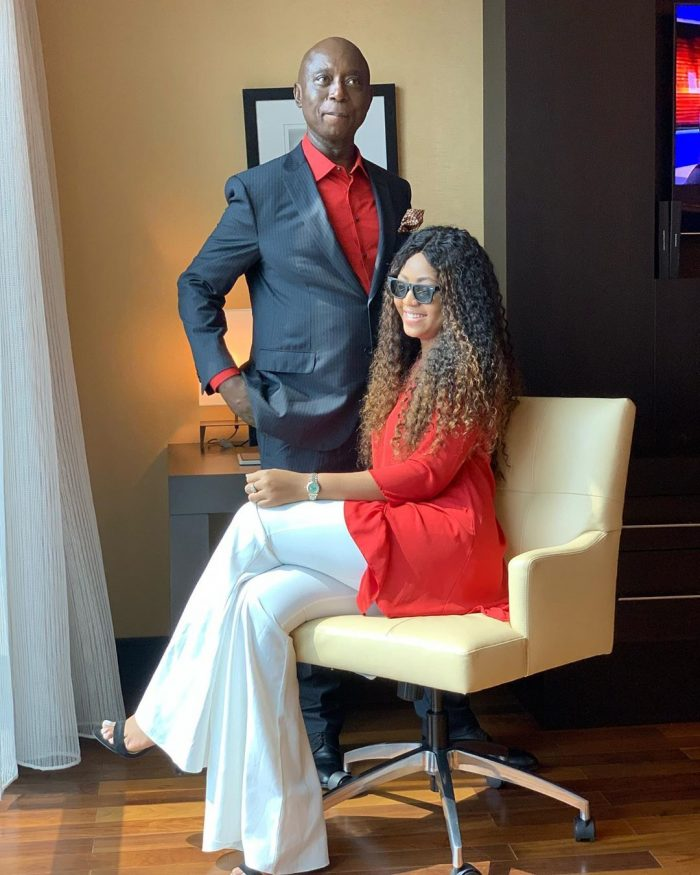 Regina Daniels And Husband, Ned Nwoko Flaunt Their Love (Photos) 1