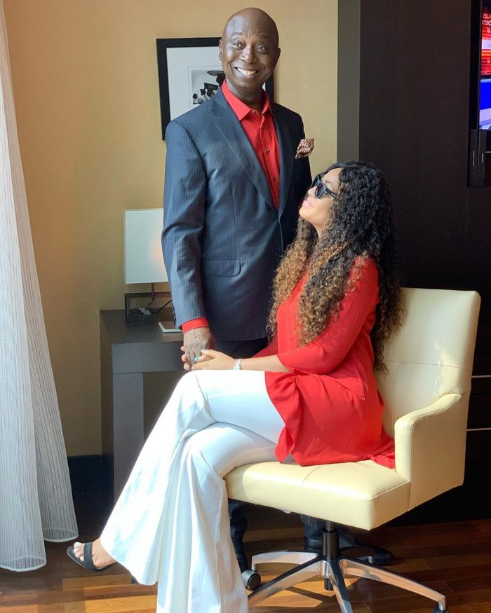 Regina Daniels And Husband, Ned Nwoko Flaunt Their Love (Photos) 3