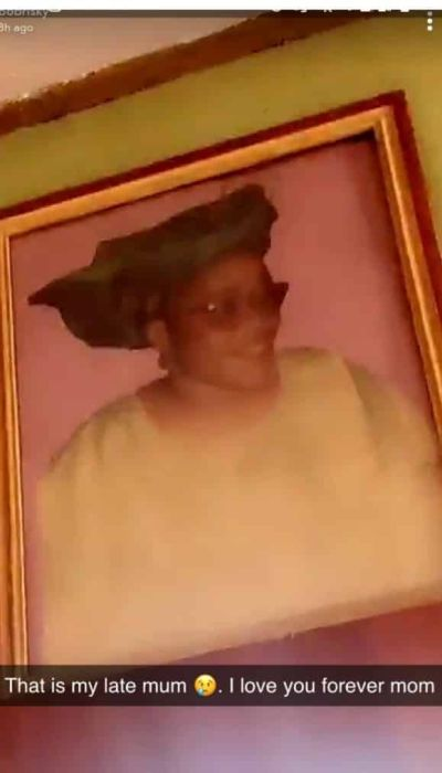 Bobrisky Shares Photos Of His Late Father And Mother 4