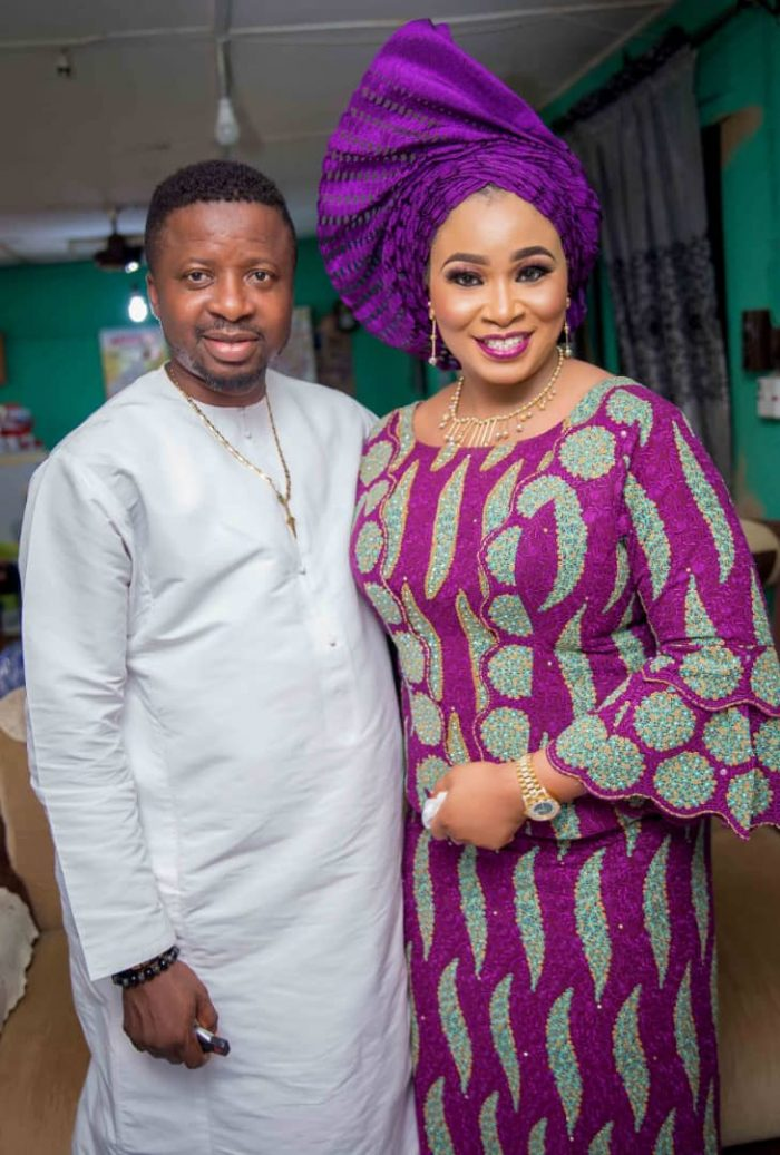 Exclusive! See More Photos From Toyin Abraham's Engagement To The Father Of Her Unborn Child 4