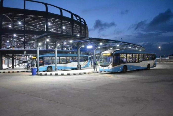 VERY BRAUTIFUL!!! Photos From Oshodi Bus Terminal Newly Opened 1