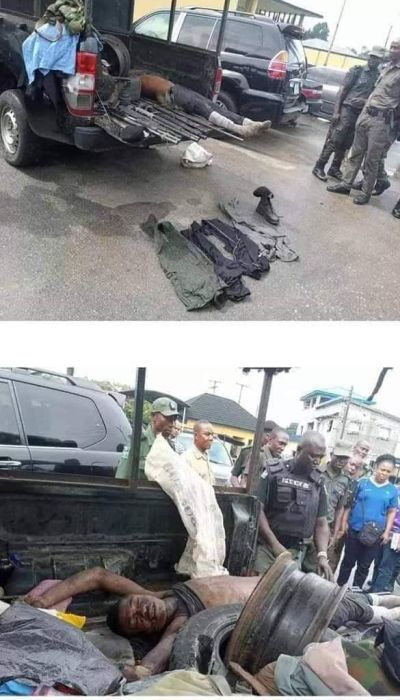 Jubilation As Police Kills Abacha In Rivers State 5