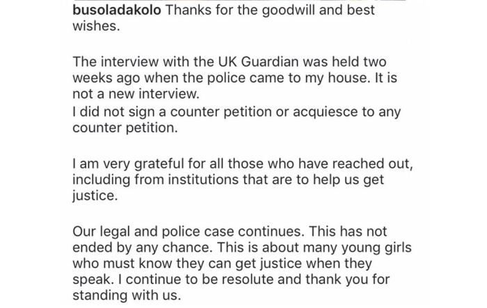 UPDATE:- I Did Not Sign Any Counter Petition – Busola Dakolo Clears The Air On Ongoing Rape Case 3