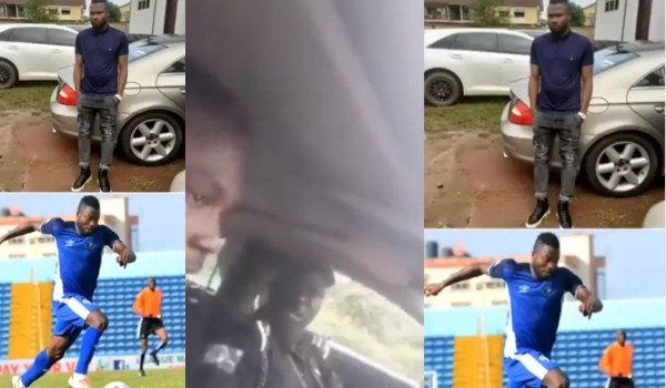 Any Youth Who Owns A Benz Is A Yahoo Boy – Policeman Tells Enyimba FC Player, Stephen Chukwude 21