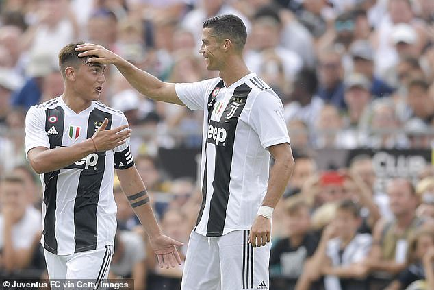 See What Ronaldo Told Dybala About Moving To Man United 1