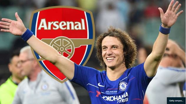 BREAKING NEWS! Arsenal Sign David Luiz From Chelsea 1