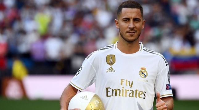 BIG NEWS! Eden Hazard To Wear Number 7 Jersey At Real Madrid 1
