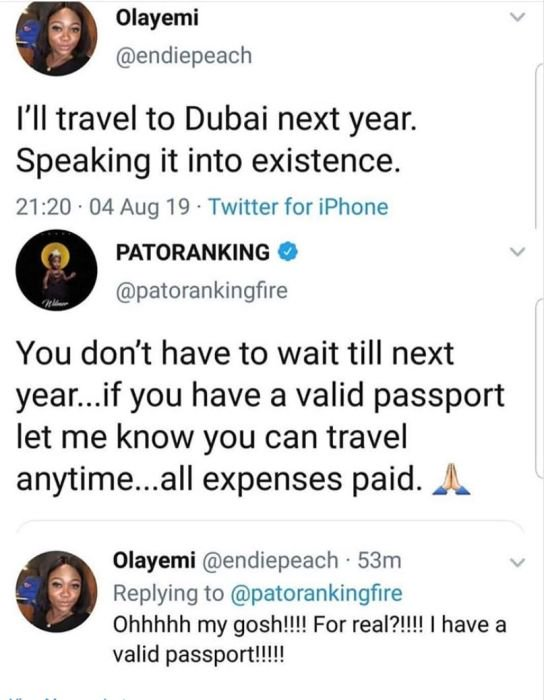 Patoranking Makes A Fan's Dream Come True – See What He Promised To Do For A Fan 3