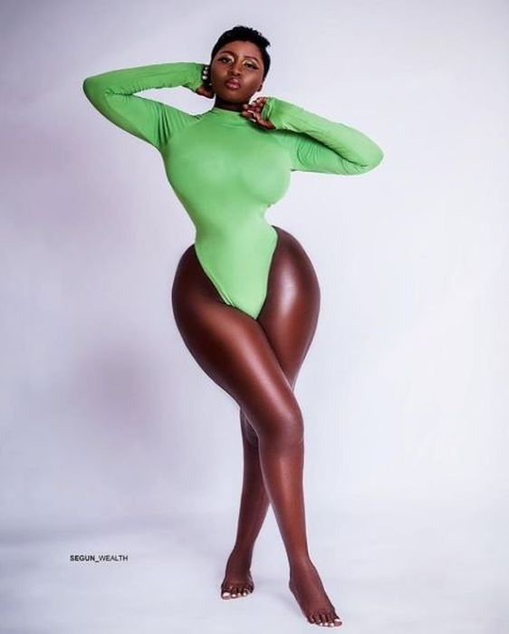 UNBELIEVABLE!!! This Actress, Princess Shyngle Body Shape Can't Be Real (Photo) 1