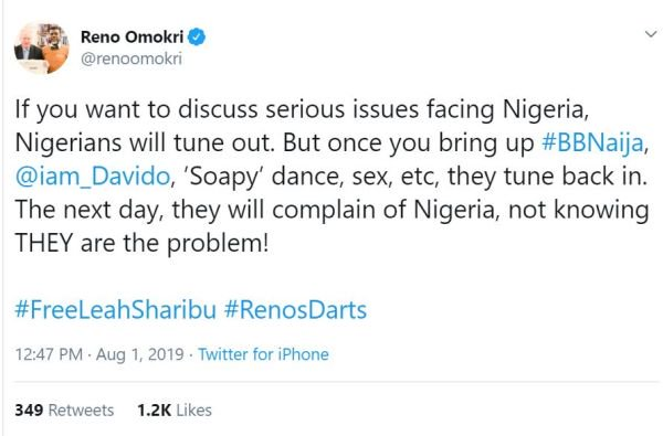 Nigerians Are More Interested In Sex, Soapy, Davido – Omokri 3