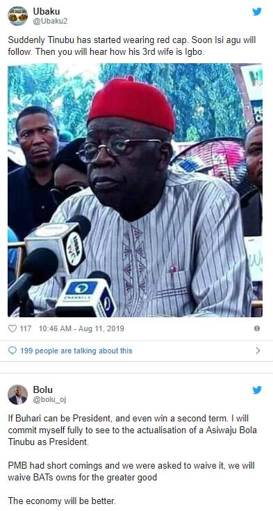 Nigerians Reacts As Speculations About Tinubu's Presidential Election Build Up 8