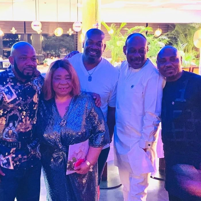 Don Jazzy, D'Prince And Their Siblings Celebrate Their Mother's Birthday In Lagos (Photos) 5