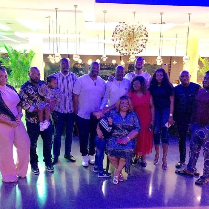 Don Jazzy, D'Prince And Their Siblings Celebrate Their Mother's Birthday In Lagos (Photos) 4